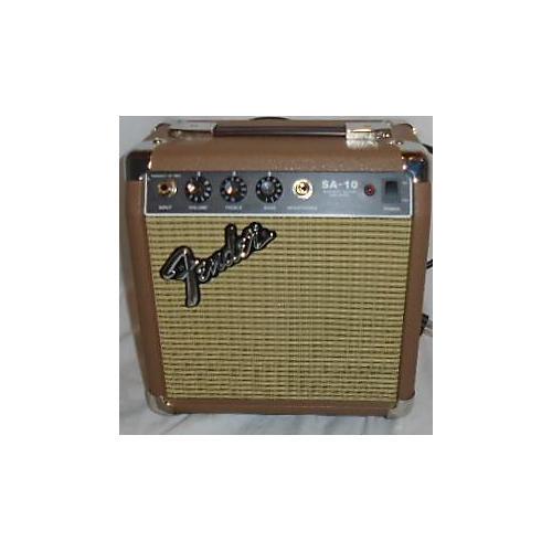 used fender sa10 acoustic amp guitar combo amp guitar center. Black Bedroom Furniture Sets. Home Design Ideas