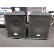 Seismic Audio Sa15ss Pair Unpowered Monitor