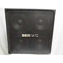 Seismic Audio Sa4x8 Bass Cabinet