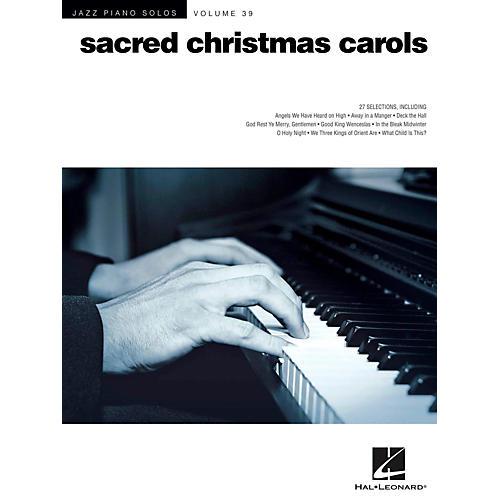 Hal Leonard Sacred Christmas Carols - Jazz Piano Solo Series Vol. 39-thumbnail