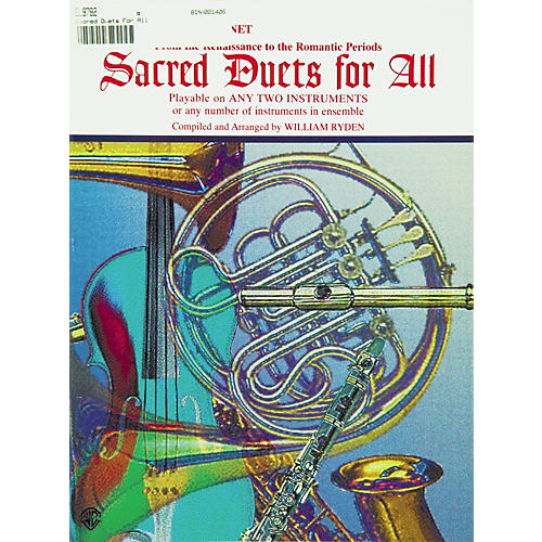 Alfred Sacred Duets for All B-Flat Clarinet & Bass Clarinet-thumbnail
