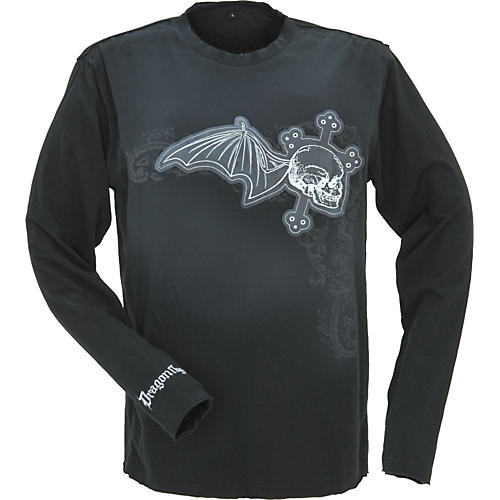 Dragonfly Clothing Company Sacred Skull Long-Sleeve T-Shirt
