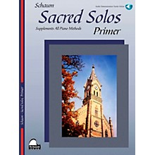 SCHAUM Sacred Solos (Primer) Educational Piano Book with CD