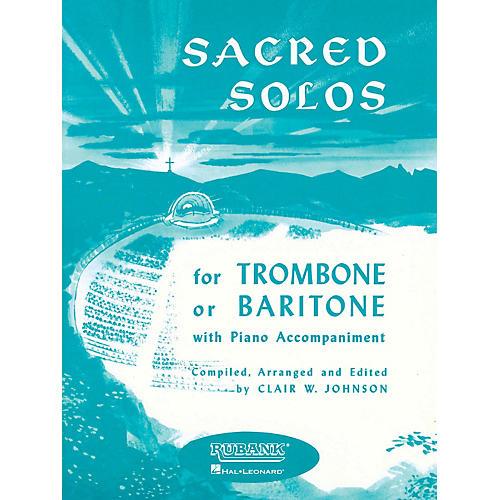 Rubank Publications Sacred Solos (Trombone (Baritone B.C.) Solo with Piano) Rubank Solo Collection Series
