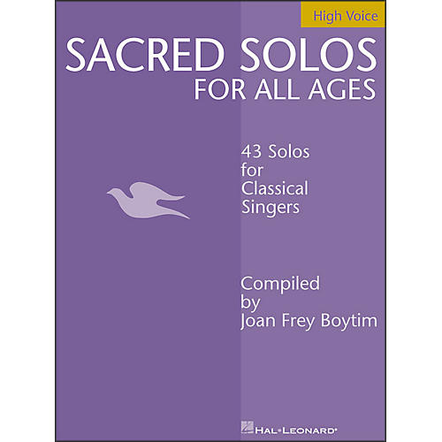 Hal Leonard Sacred Solos for All Ages for High Voice