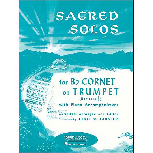 Hal Leonard Sacred Solos for B Flat Cornet Or Trumpet, Baritone T. C. with Piano-thumbnail
