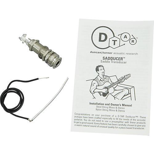 Dtar Sadducer Undersaddle Pickup for Steel-String Guitars