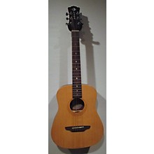 Luna Guitars Safari Tattoo 3/4 Size Acoustic Guitar