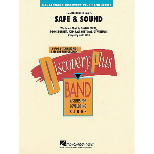 Hal Leonard Safe & Sound (From Hunger Games) - Discovery Plus! Band Series Level 2-thumbnail