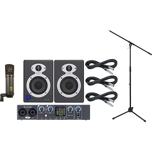Focusrite Saffire Pro 24 Recording Package-thumbnail