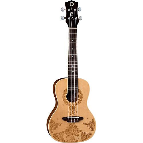 Luna Guitars Sahara Spruce Ukulele-thumbnail