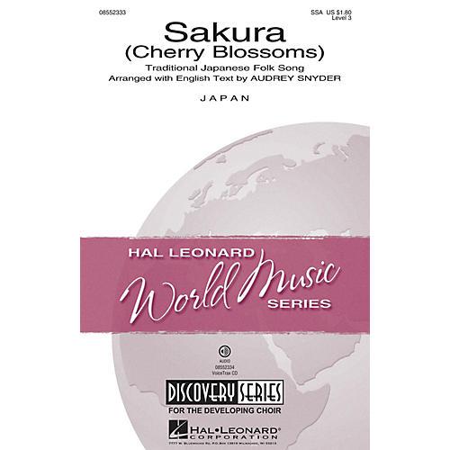 Hal Leonard Sakura (Cherry Blossoms) Discovery Level 3 SSA arranged by Audrey Snyder