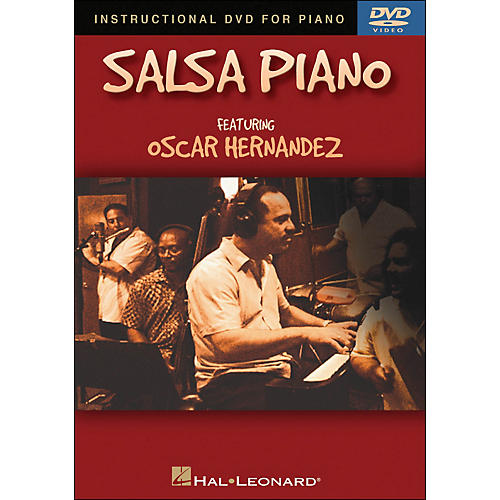 Hal Leonard Salsa Piano DVD - Featuring Oscar Hernandez-thumbnail