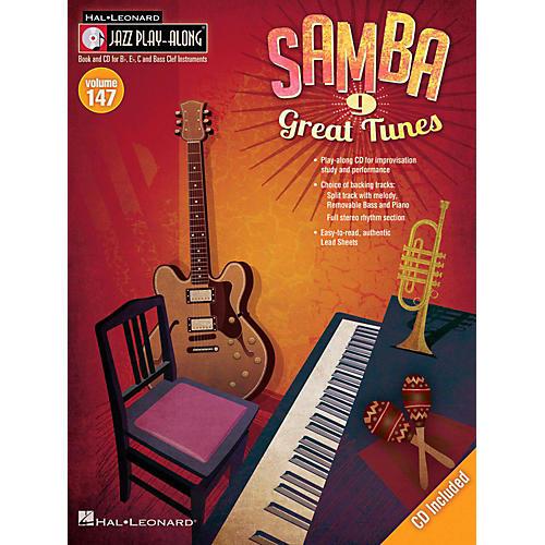 Hal Leonard Samba - Jazz Play-Along Volume 147 Book/CD-thumbnail