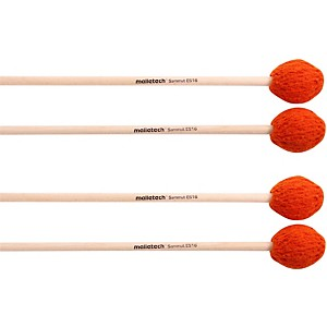 Malletech Sammut Marimba Mallets Set of 4 2 Matched Pairs by