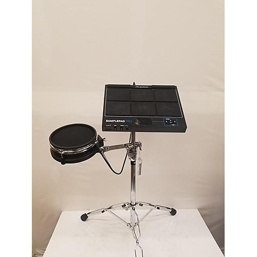 used alesis sample pad pro drum midi controller guitar center. Black Bedroom Furniture Sets. Home Design Ideas