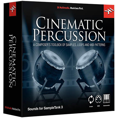 IK Multimedia SampleTank 3 Instrument Collection - Cinematic Percussion-thumbnail