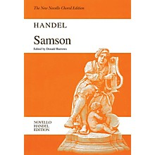 Novello Samson (Novello Handel Edition) Vocal Score Composed by George Frideric Handel