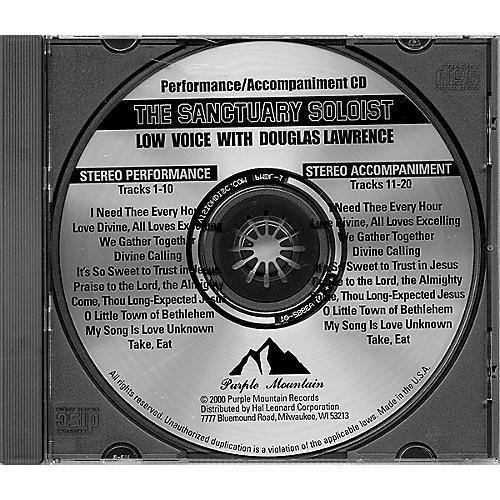 Hal Leonard Sanctuary Soloist #3 Cd/low Voice