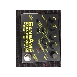Pre-owned Tech 21 Sans Amp Bass Effect Pedal