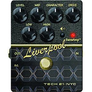 Tech 21 SansAmp Character Series Liverpool V2 Distortion Guitar Effects Ped...