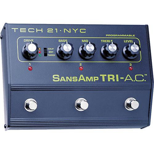 Tech 21 SansAmp Tri-A.C. Distortion Pedal-thumbnail