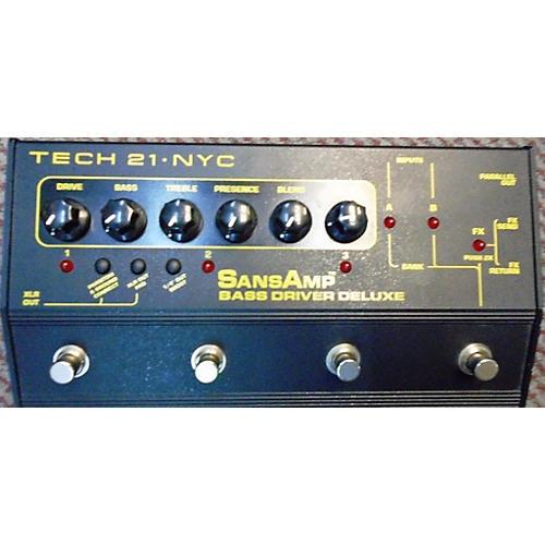Tech 21 Sansamp Bass Driver Deluxe Bass Effect Pedal