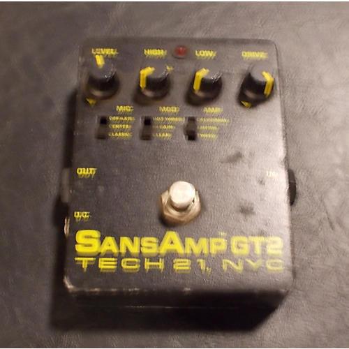 Tech 21 Sansamp GT2 Tube Amp Emulator Effect Pedal  0