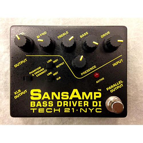 Tech 21 Sansamp PBDR Bass Driver DI Bass Effect Pedal