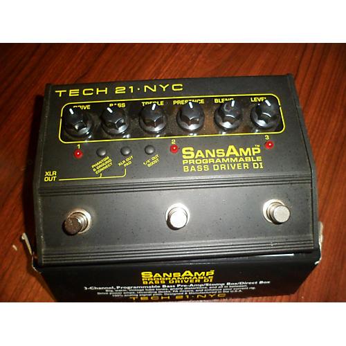 Tech 21 Pedals : used tech 21 sansamp pbdr bass driver di bass effect pedal guitar center ~ Russianpoet.info Haus und Dekorationen