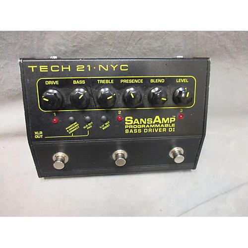 Tech 21 Sansamp PBDR Bass Driver DI Bass Effect Pedal-thumbnail