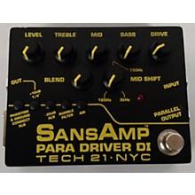 Tech 21 Sansamp Para Driver DI Preamp V2 Effect Pedal