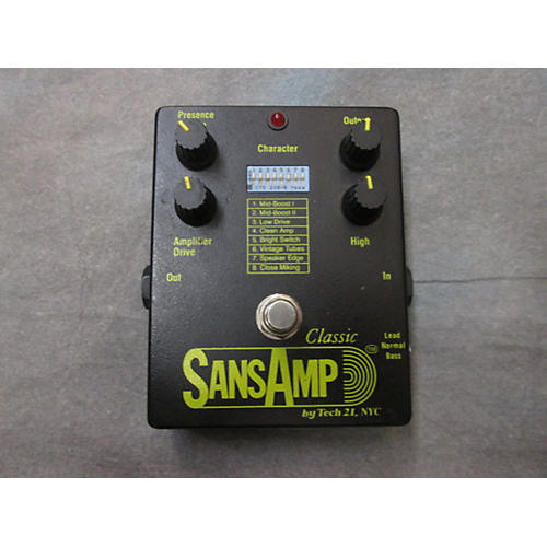 Tech 21 Sansamp SA1 Classic Effect Pedal