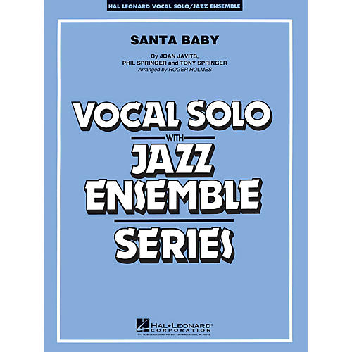 Hal Leonard Santa Baby - Vocal Solo Jazz Ensemble Series Level 4-thumbnail