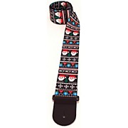 Perri's Santa Ugly Sweater Pattern Guitar Strap