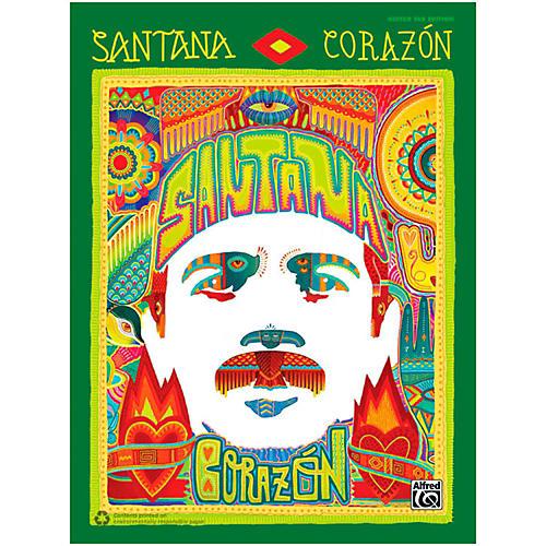 Alfred Santana - Corazon Guitar TAB Book