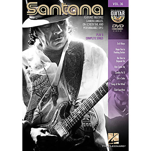 Hal Leonard Santana - Guitar Play-Along DVD Volume 36-thumbnail