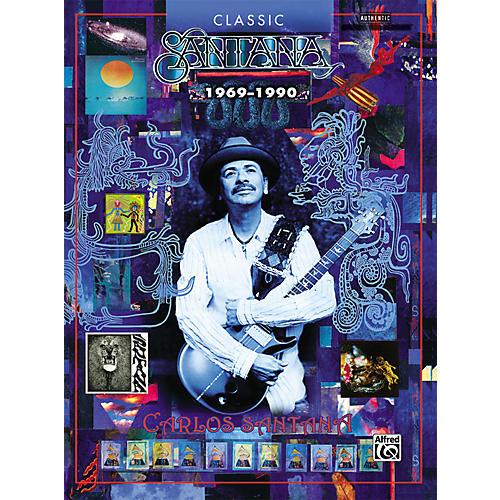 Alfred Santana Classic Santana Guitar Tab Songbook