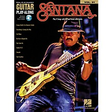 Hal Leonard Santana (Guitar Play-Along Volume 21) Guitar Play-Along Series Softcover Audio Online by Santana