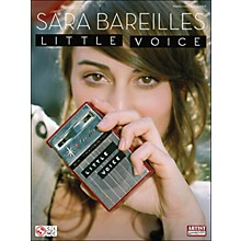 Cherry Lane Sara Bareilles: Little Voice arranged for piano, vocal, and guitar (P/V/G)