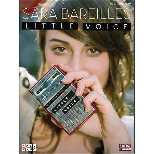 Cherry Lane Sara Bareilles: Little Voice arranged for piano, vocal, and guitar (P/V/G)-thumbnail