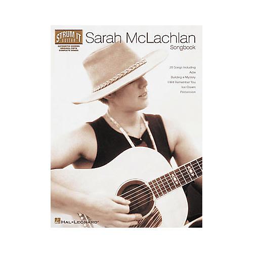 Hal Leonard Sarah McLachlan Strum It for Guitar Book