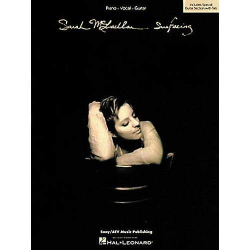 Hal Leonard Sarah McLachlan Surfacing Piano, Vocal, Guitar Book