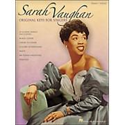 Hal Leonard Sarah Vaughan - Original Keys for Singers Vocal / Piano