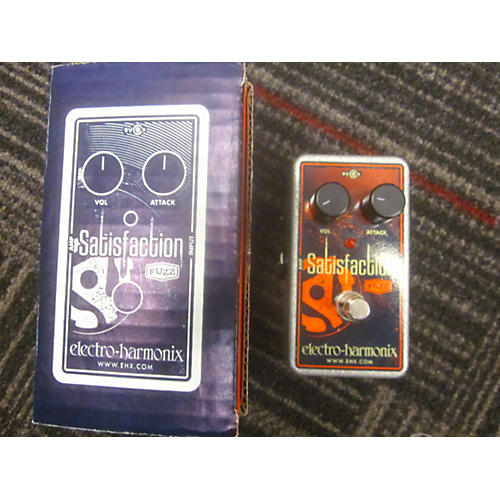 Electro-Harmonix Satisfaction Fuzz Effect Pedal