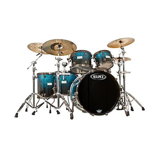 Mapex Saturn Studioease Special Edition Birch/Walnut 5-Piece Shell Pack-thumbnail