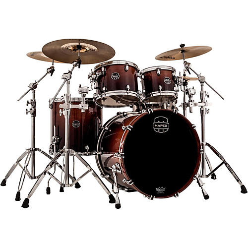 Mapex Saturn V Rock 4-Piece Shell Pack With Soniclear Edge-thumbnail