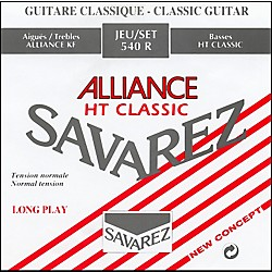 Savarez Alliance HT 540R Red Card Strong Tension Classical Guitar Strings (STSAV54-50139)