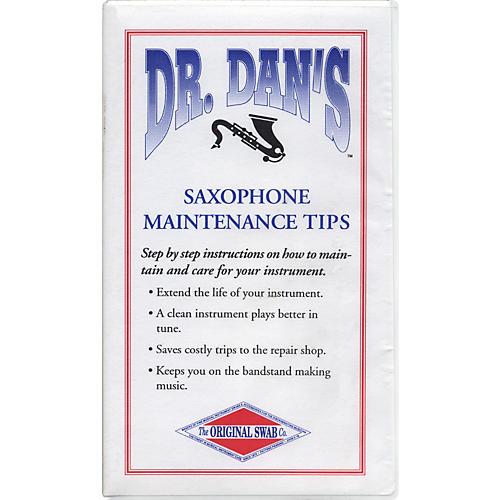 Dr. Dan's Sax Maintenance Video