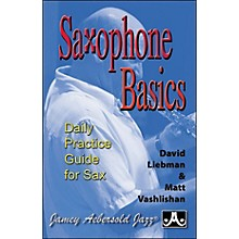 Jamey Aebersold Saxophone Basics - A Daily Practice Guide (Book)